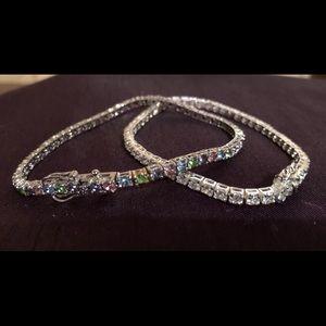 Jewelry - Pair of crystal bracelets